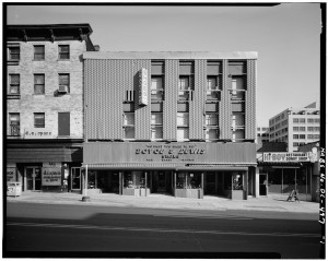 This photograph shows how the Clara Barton Missing Soldiers Office appeared for most of the 20th century: a modern shoe store, no visible brick, let alone any clue of Clara Barton's history there. The only thing advertised is the Boyce and Lewis shoe store.