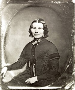 Clara Barton as a young person