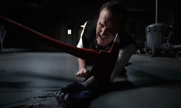Agent Phil Coulson of SHIELD has his arm amputated.