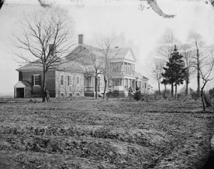 The Lacy House (today known as Chatham Manor). Courtesy of Fredericksburg and Spotsylvania NMB