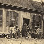 Freedmen's school in the sea islands of South Carolina