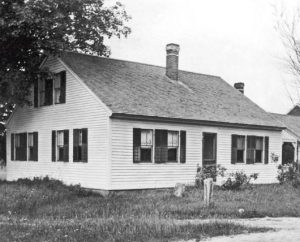 Clara Barton's childhood home c. 1900