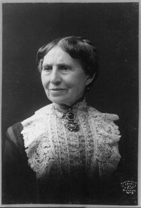 Clara Barton, 1904. Even in her later years, Barton was a tireless advocate for women's rights.