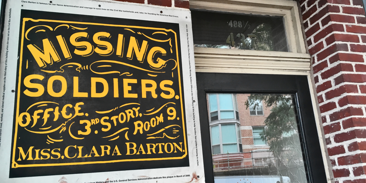 Clara Barton's Story: The Missing Soldiers Office 1865 - 1868