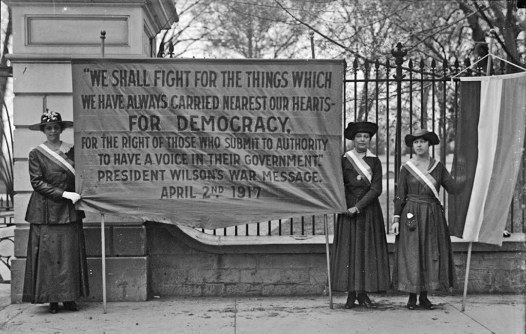 """""""Banners Instead of Guns:"""" Fighting for Suffrage in ..."""
