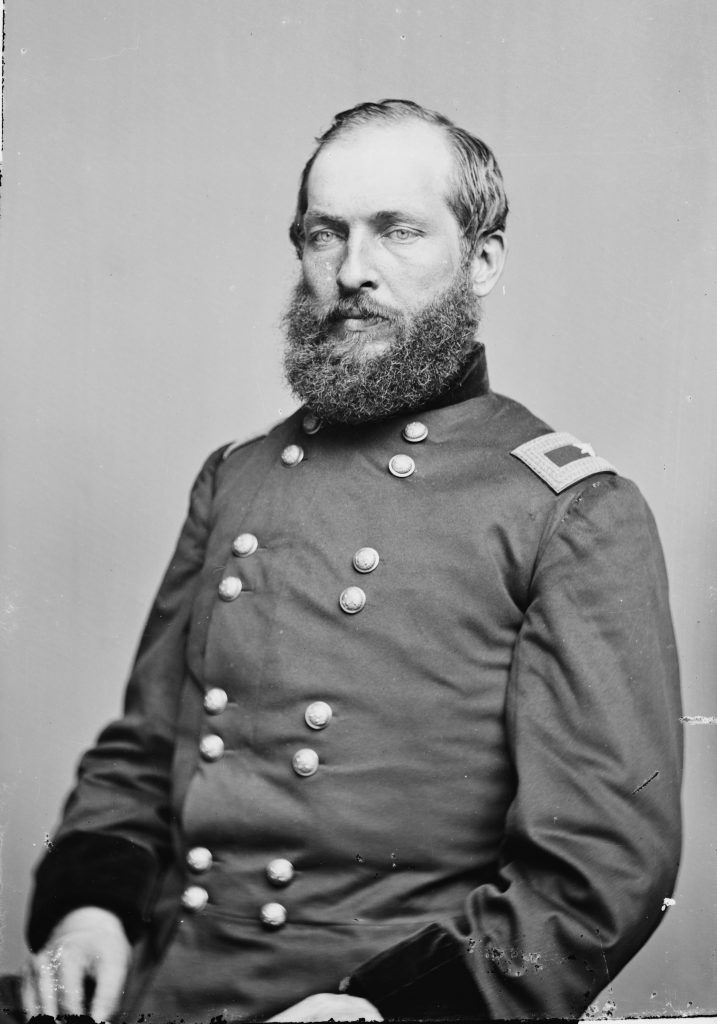 James Garfield during the Civil War