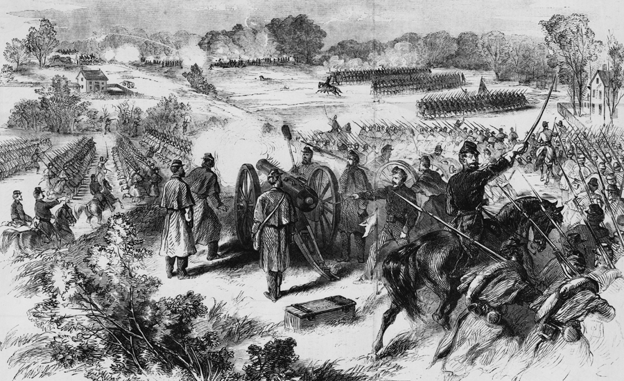 The Battle of Dranesville Courtesy of Wiki Commons